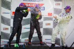 On Podium Spraying Champagne2