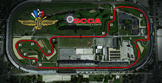 Indianapolis SCCA Runoffs Layout